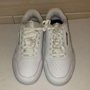 NEW Reebok Men's White Sneakers. Size:9.